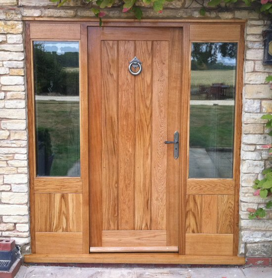 View the full image ... & External door finishing | sprayed on